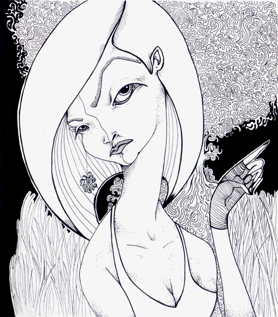 Bad lady by gryzba