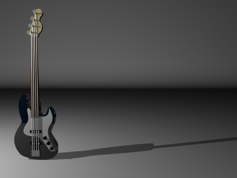 Fender J Bass by cerebral-animations
