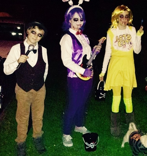 Five nights at Freddy's halloween cosplay 2014 by harleyquinnfan1 ...