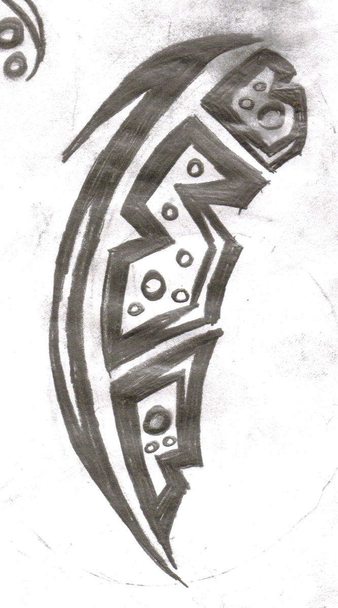 Tribal Feather by ~etchednink on deviantART