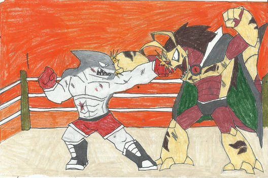 Fight!! Fight!! Fight!! by yogelis