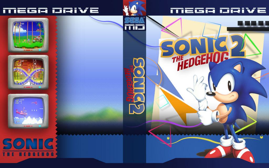 Sonic The Hedgehog 2 Custom Cover By Excelular01 On Deviantart
