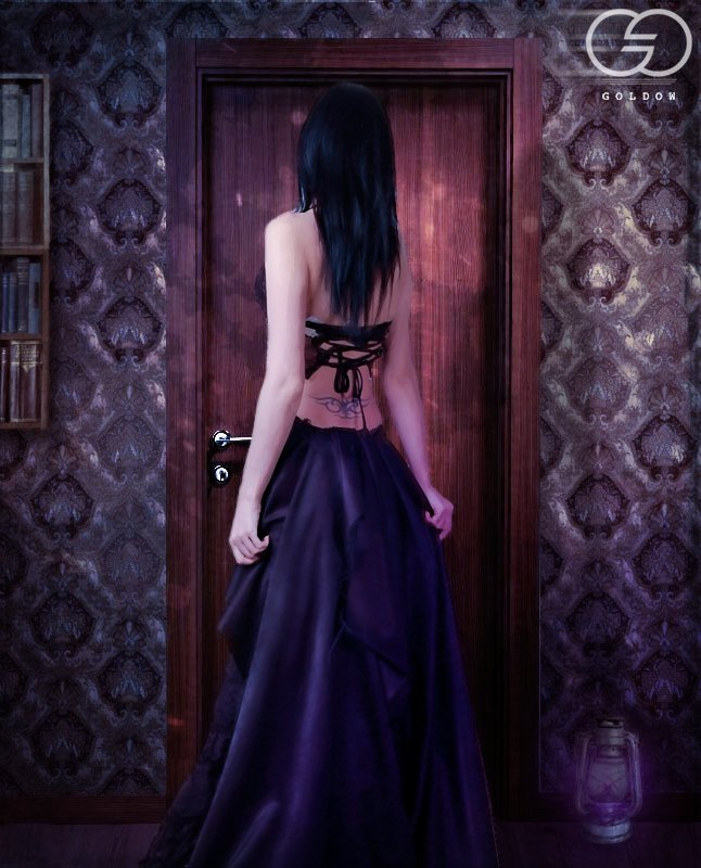 Photomanipulation | Mystery Door by Goldow Photomanipulation ... & Photomanipulation | Mystery Door by Goldow on DeviantArt