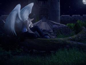 Photomanipulation | Surrealist Angel