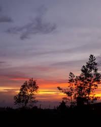 Sunset mountain 2