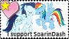 SoarinDash stamp by Crazii-Drawing