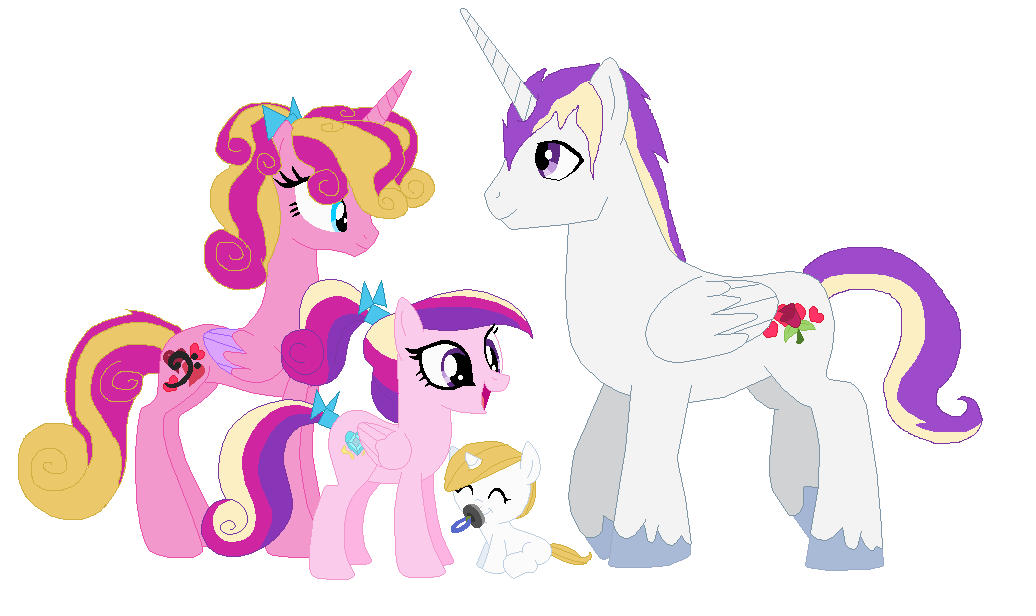 Princess Cadence's family by Crazii-Drawing on DeviantArt
