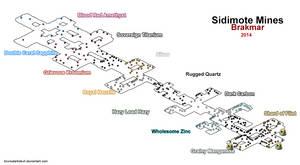 Sidimote Mines Map Wakfu
