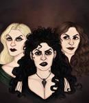 The Black Sisters by nekkuu