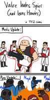 TF2: Valve hates Spies