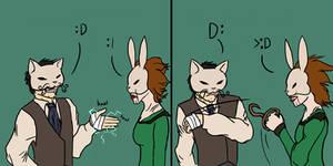 Bioshock: Handshakes by Pandadrake