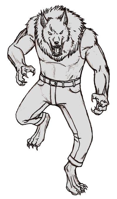 Tiny sketch Sam-wolf by Pandadrake