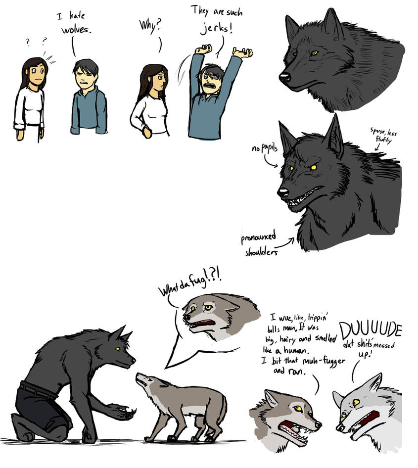 Female werewolf x male human fanfiction