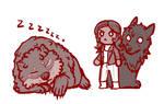Wolf Country: Sleepy Bear