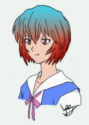 Ayanami Rei no shinka!!!!
