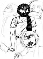 The Butcher by EvelArtGirl