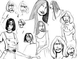 BATAOB sketch dump by EvelArtGirl
