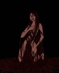 Tangled Joanna by EvelArtGirl