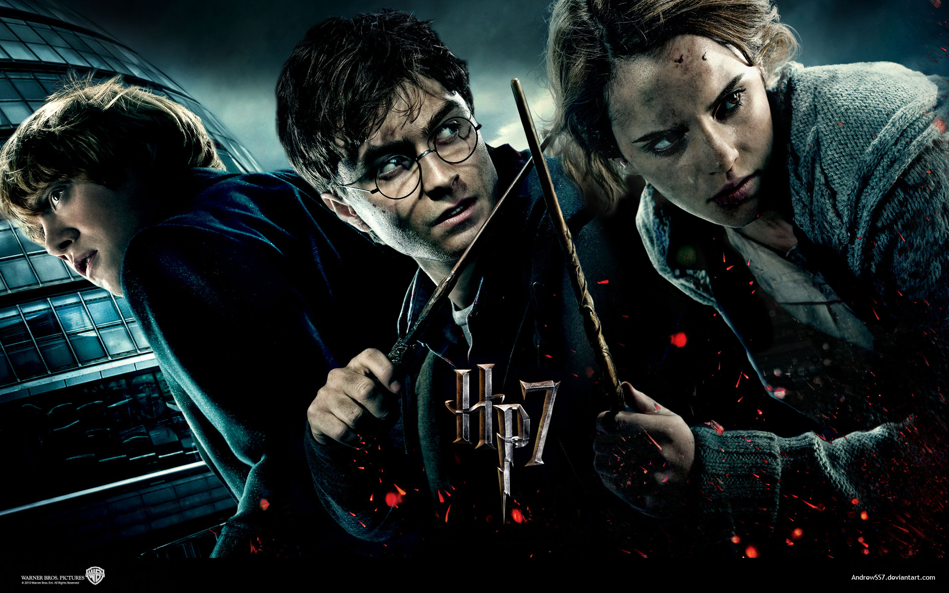 Harry Potter 7 wallaper 2 by AndrewSS7