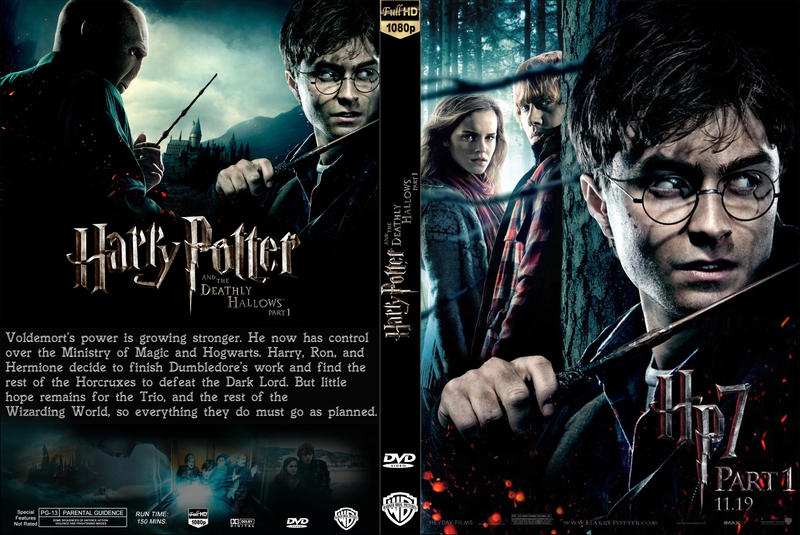 HP7 - DVD cover by AndrewSS7 on DeviantArt