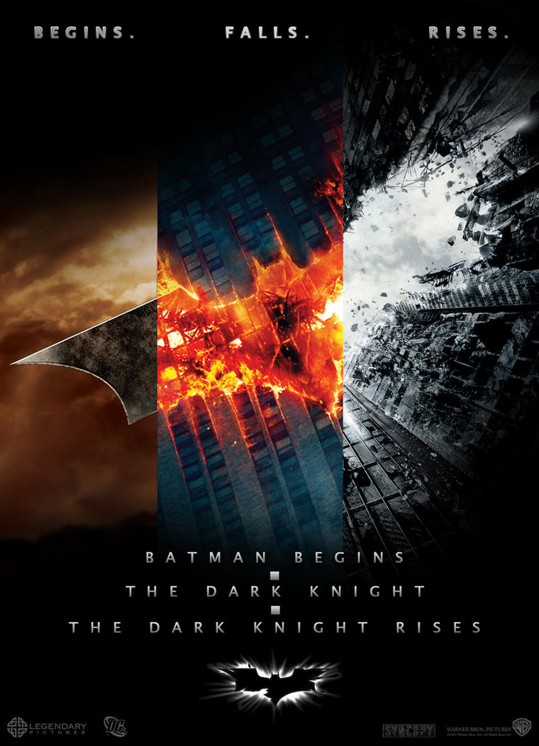 Batman Trilogy - poster by AndrewSS7