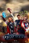 'the Avengers' - poster