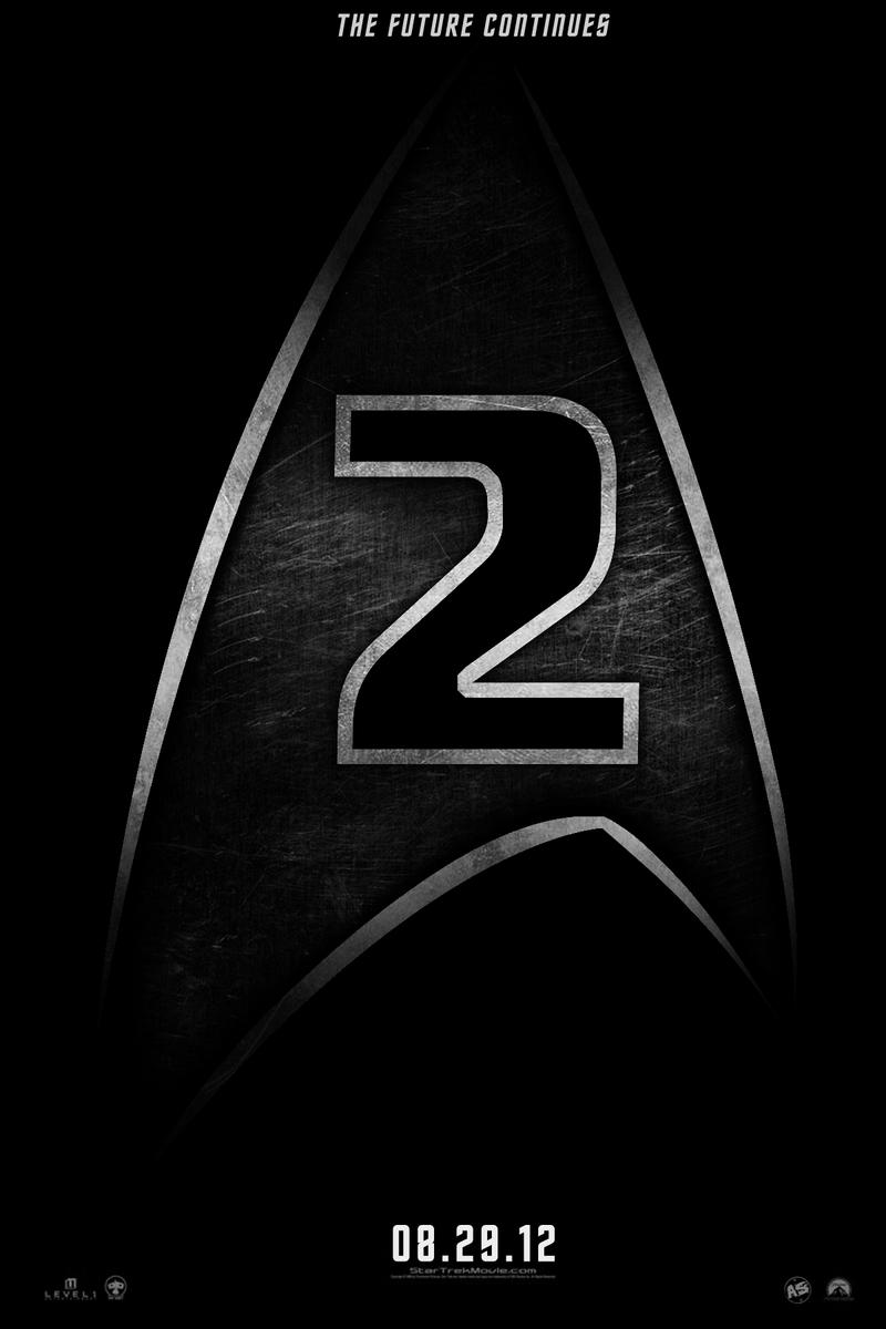 Star Trek sequel teaser poster by AndrewSS7