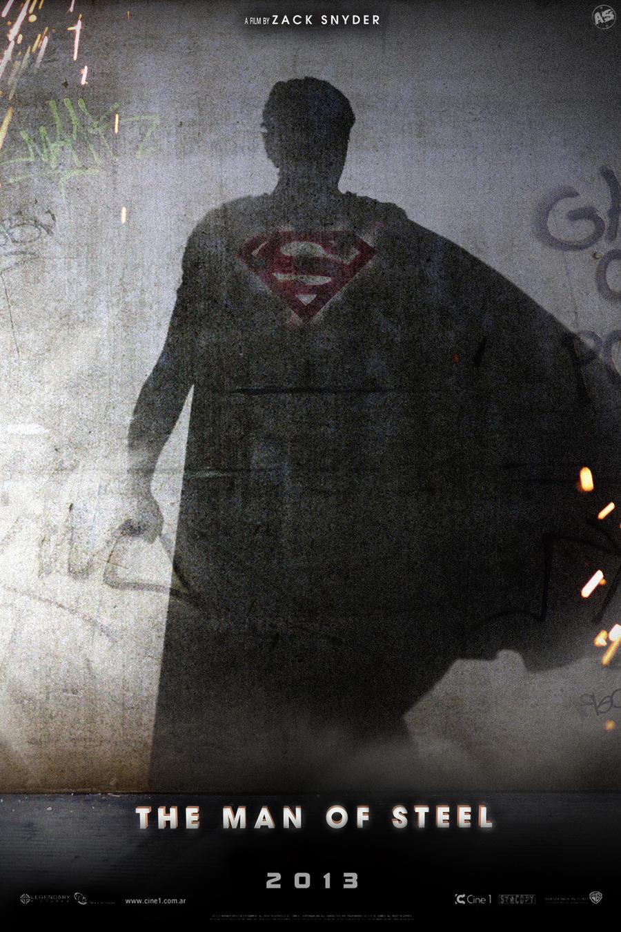 'Man of Steel' teaser poster