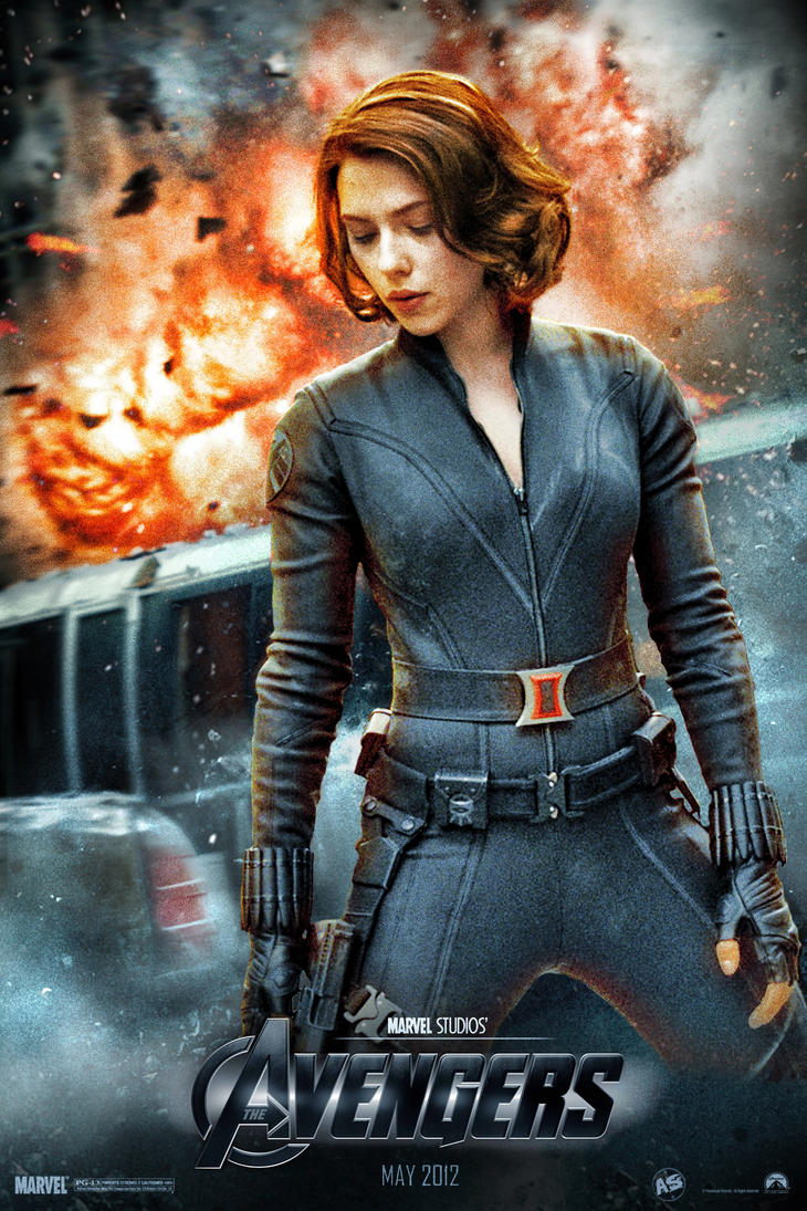Avengers' Black Widow poster by AndrewSS7 on DeviantArt