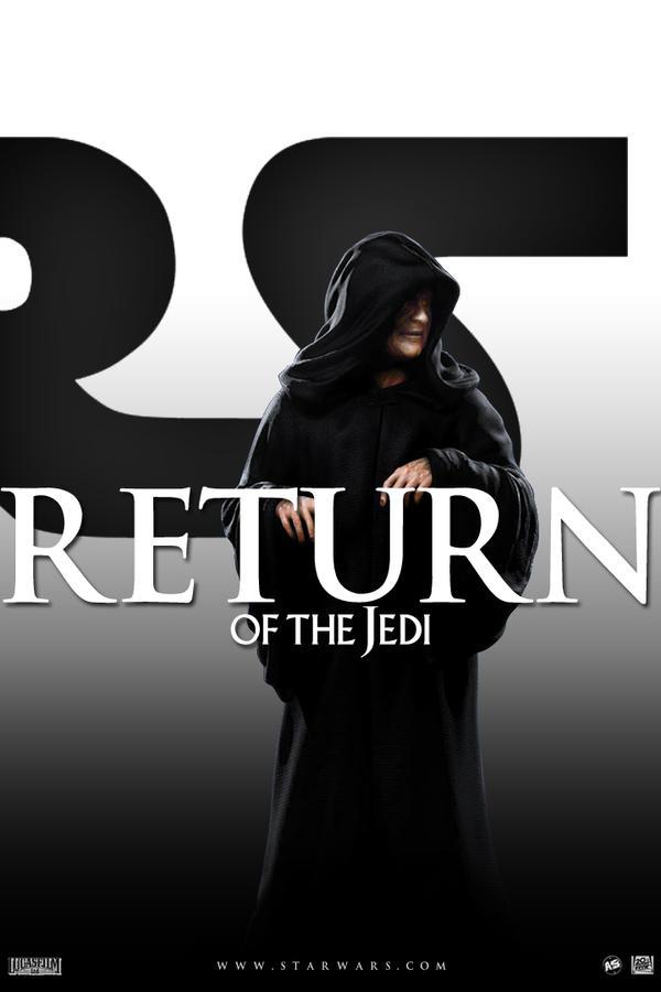 Star Wars saga - Episode VI poster by AndrewSS7