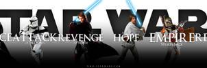 Star Wars saga - banner