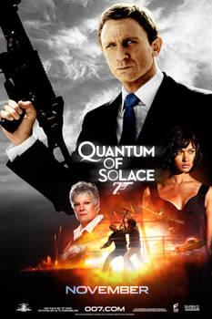 ''Quantum of Solace'' poster