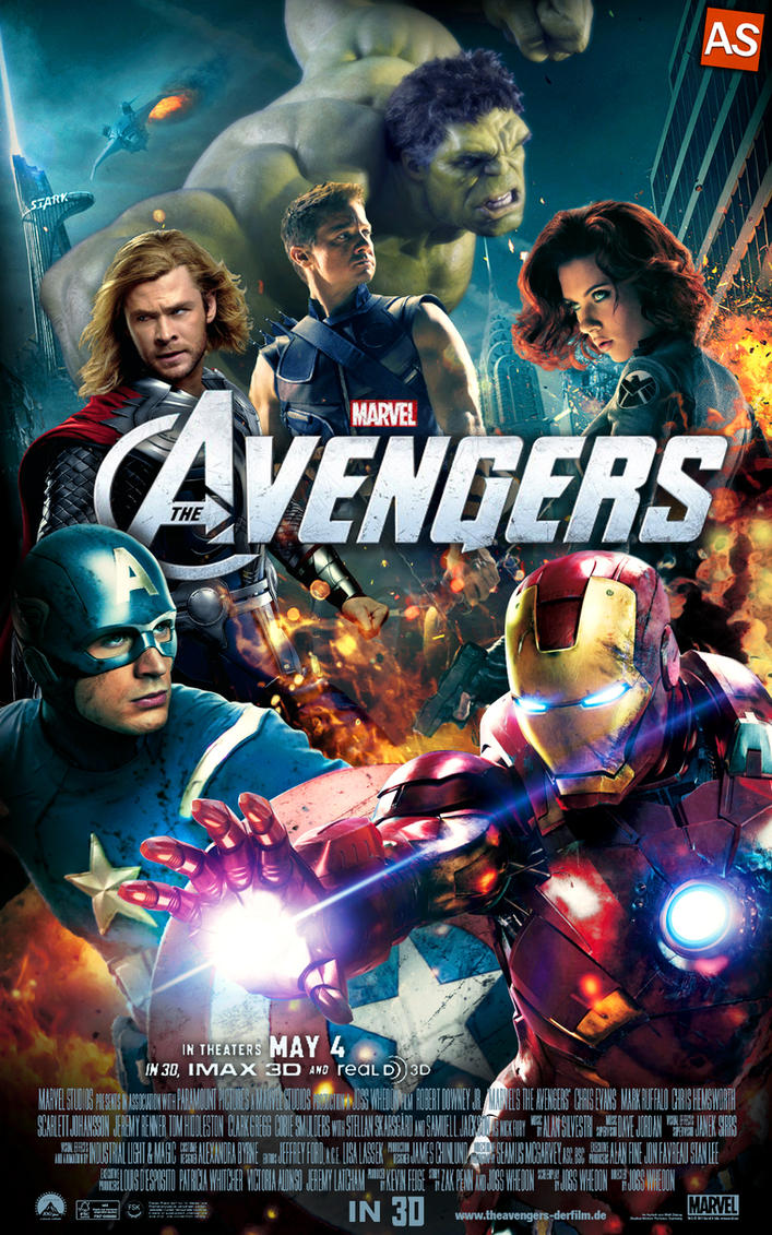 ''the Avengers'' - movie poster by AndrewSS7 on DeviantArt