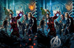 ''The Avengers'' poster recreated comparison