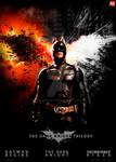 ''BATMAN TRILOGY''  poster V2
