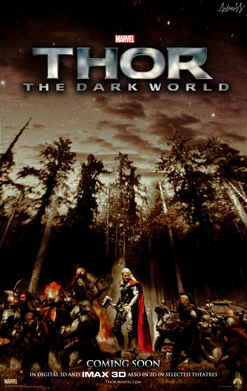 ''THOR: The Dark World'' - teaser poster