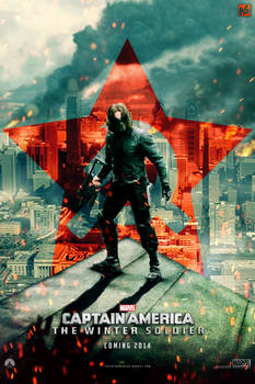 CA: The Winter Soldier teaser poster