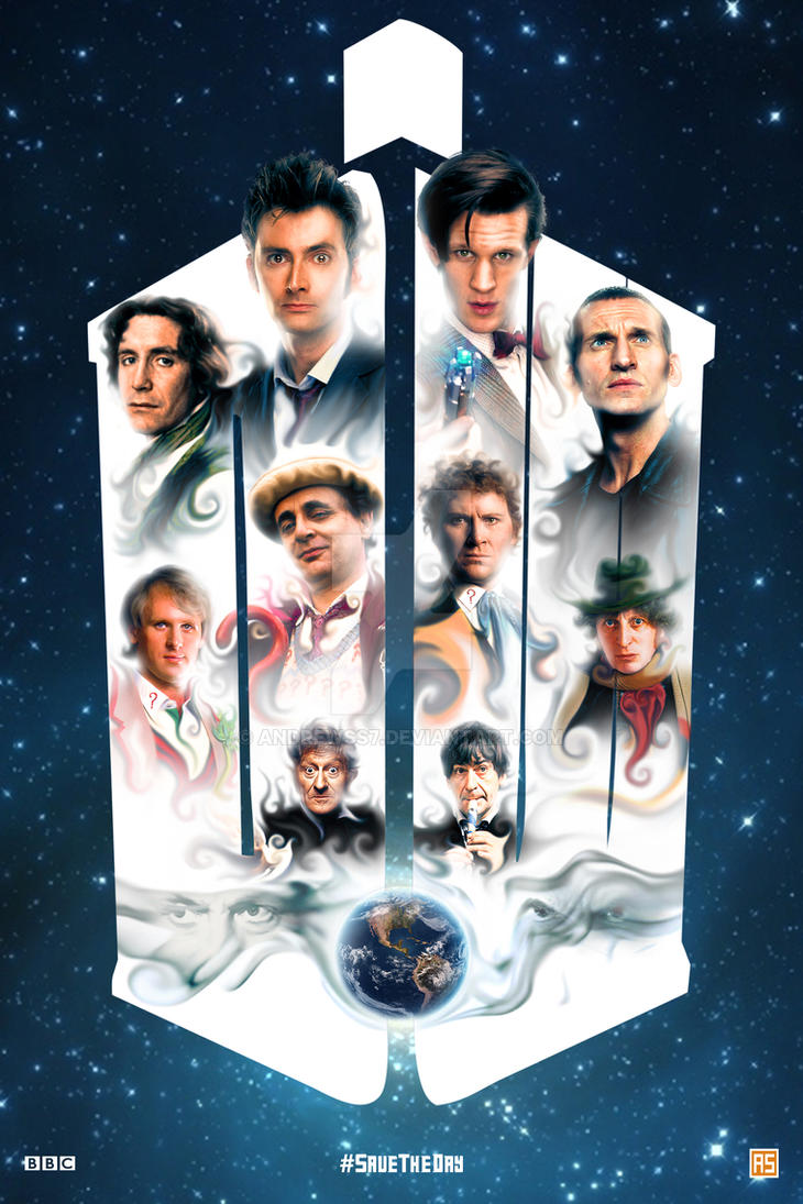 ''The Day of the Doctor'' poster by AndrewSS7