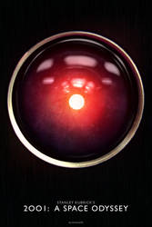 ''2001: A Space Odyssey'' poster by AndrewSS7
