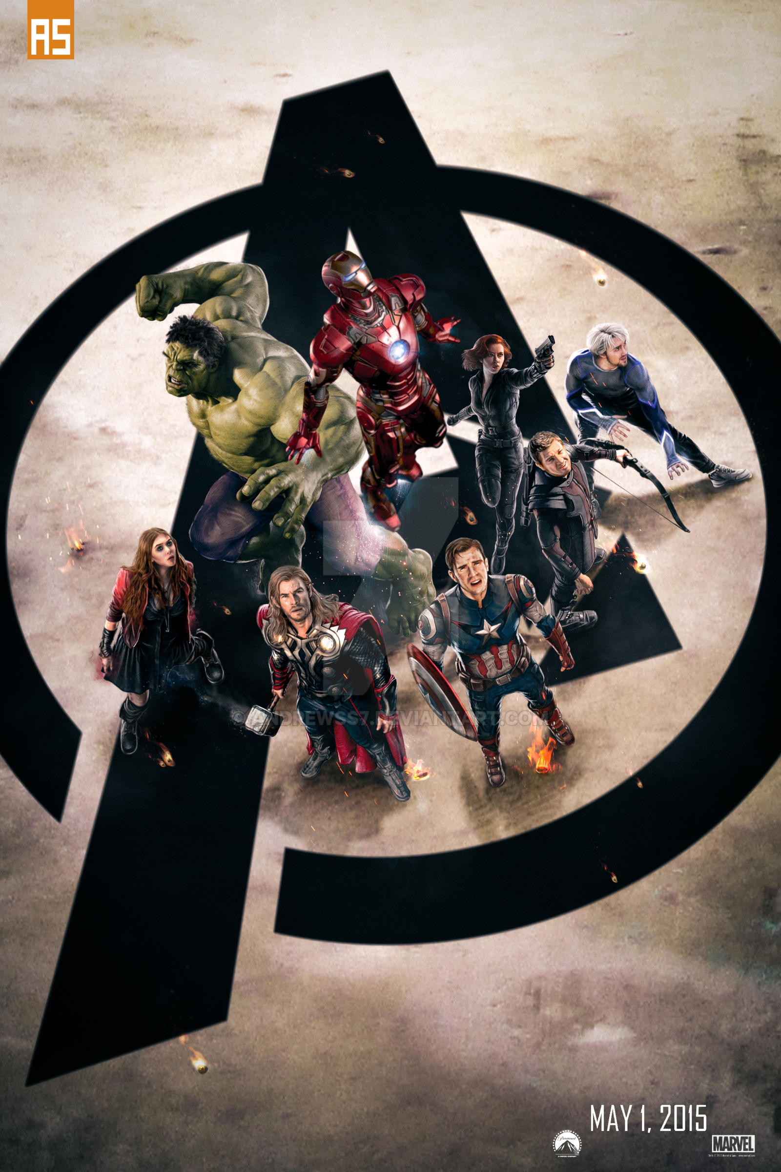 ''The Avengers: Age of Ultron'' poster