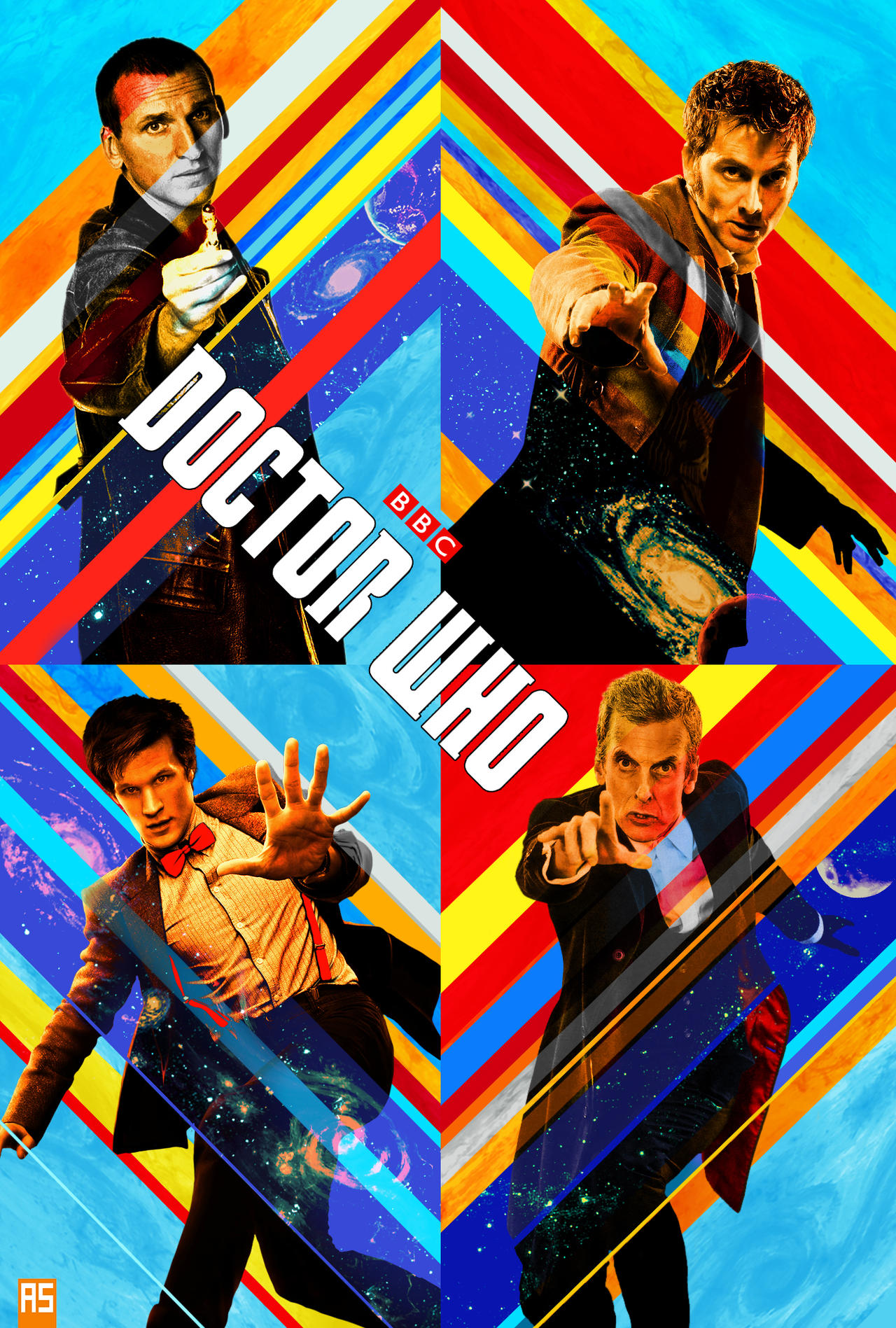 GotG style Doctor Who poster