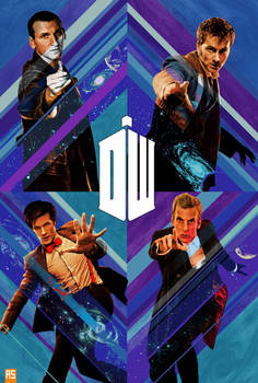 GotG style Doctor Who poster (VARIANT)