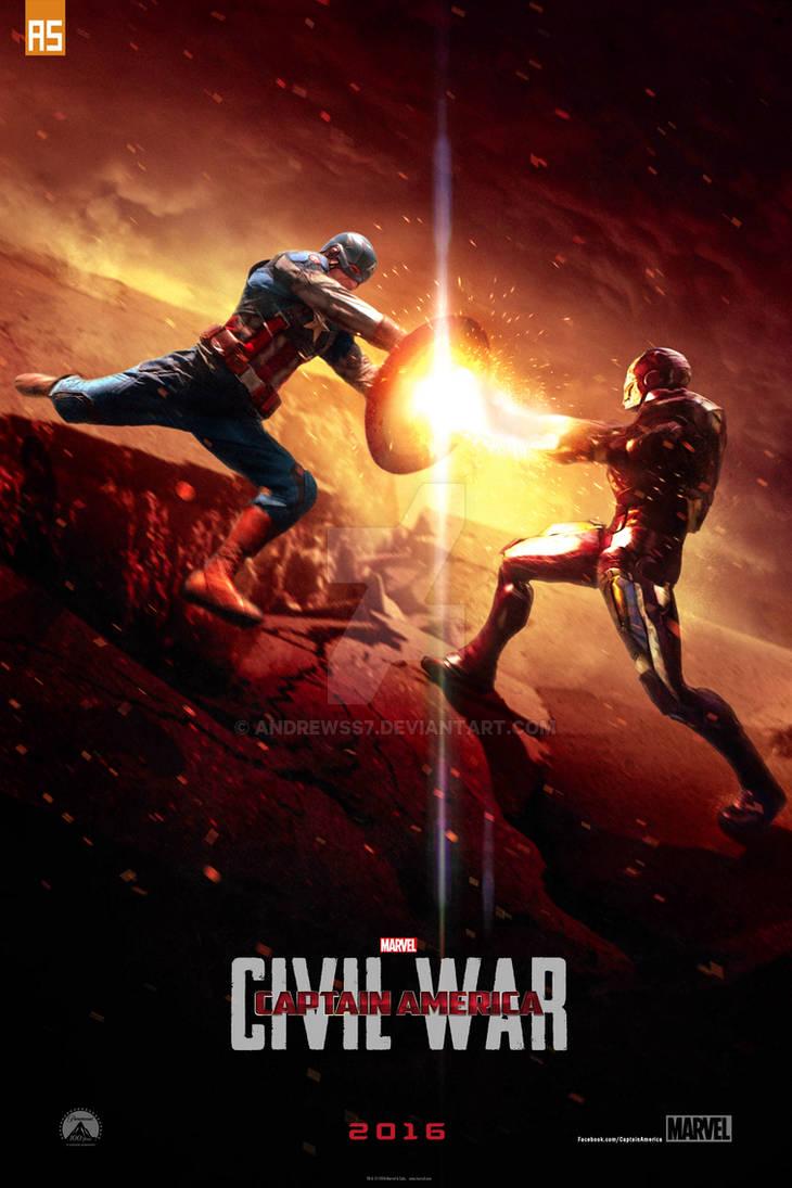 ''Captain America: Civil War'' teaser poster