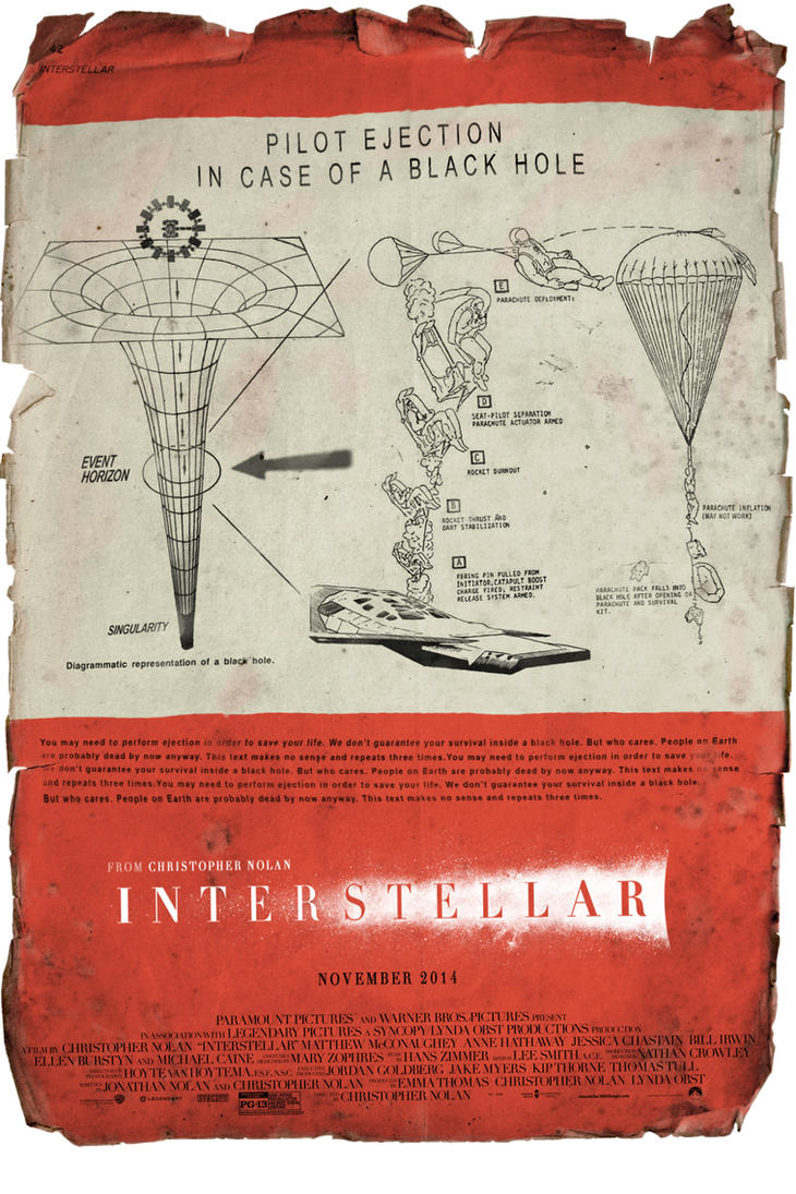 ''Interstellar'' pilot instructions by AndrewSS7