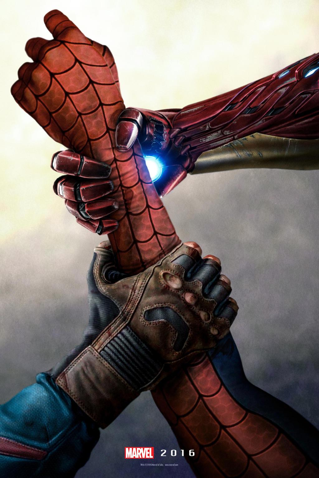 Captain America: Civil War teaser poster