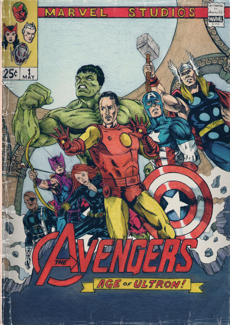 Silver Age of Ultron by AndrewSS7