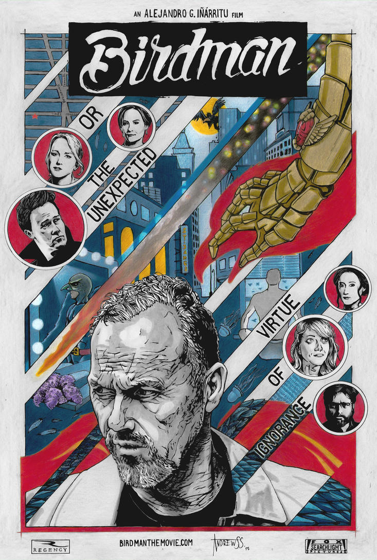 Birdman movie poster by AndrewSS7