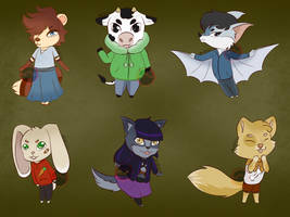 OTA Animal Crossing Adopts 1 [6/6 OPEN] by Jhazallia