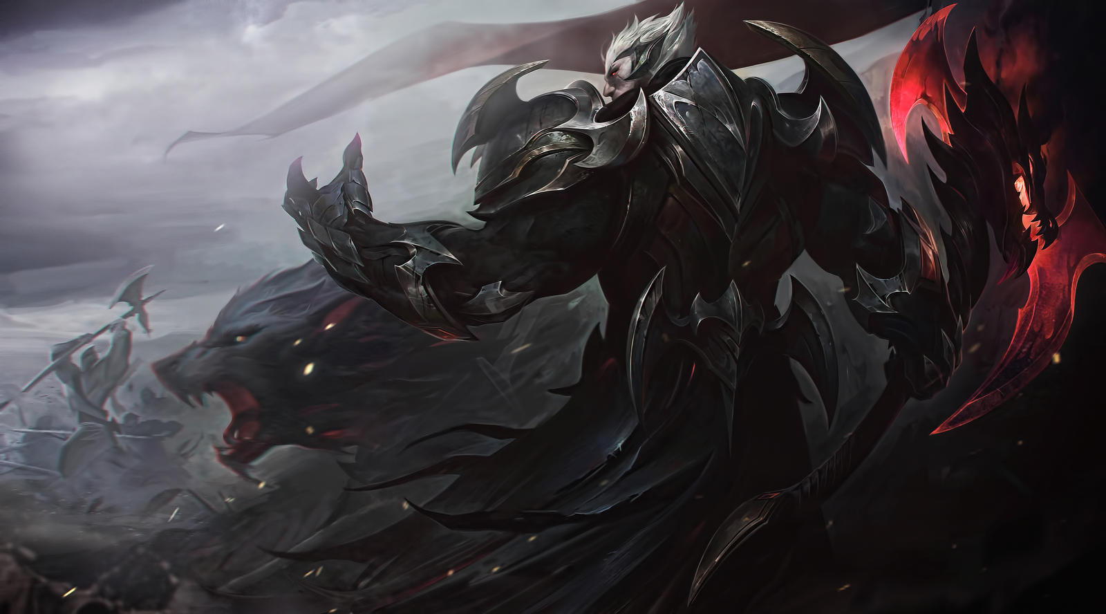 God King Darius League Of Legends 4k Hd Wallpaper By Alxv1 On