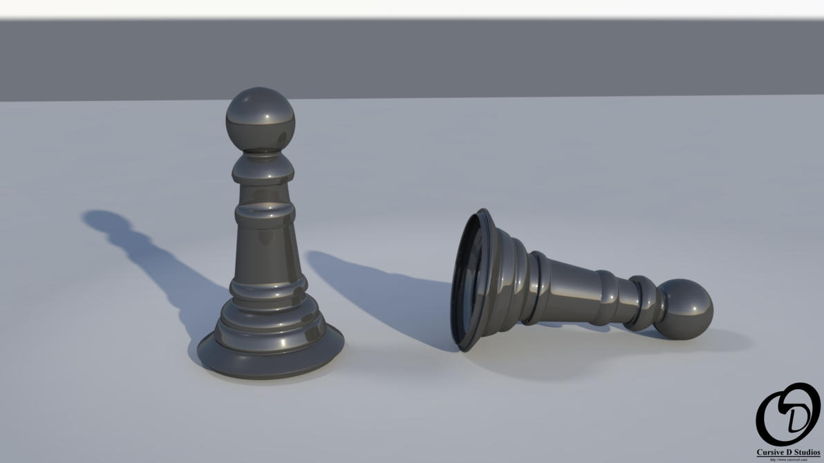Pawns using Mental Ray by CursiveD